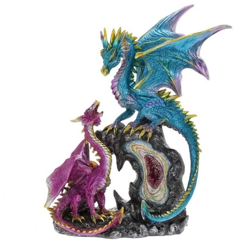 LD Blue Pink Dragon