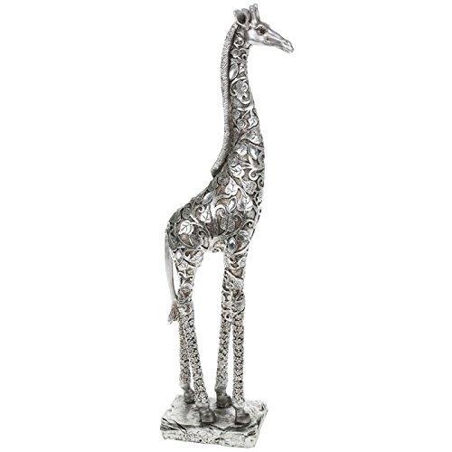 Silver Leaves Standing Giraffe