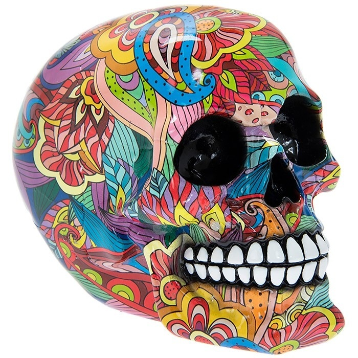 Groovy Art Small Skull
