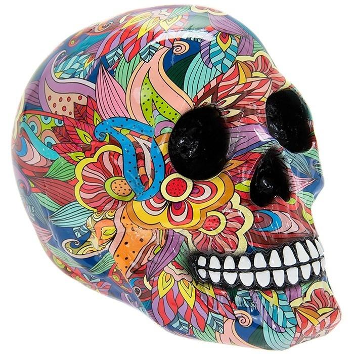 Groovy Art Large Skull