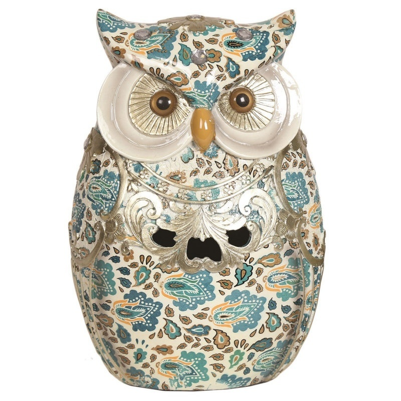 23cm Porcelain Owl