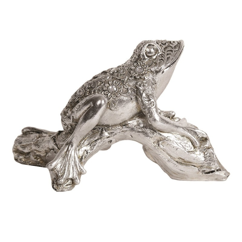 20cm Cast Decorative Frog