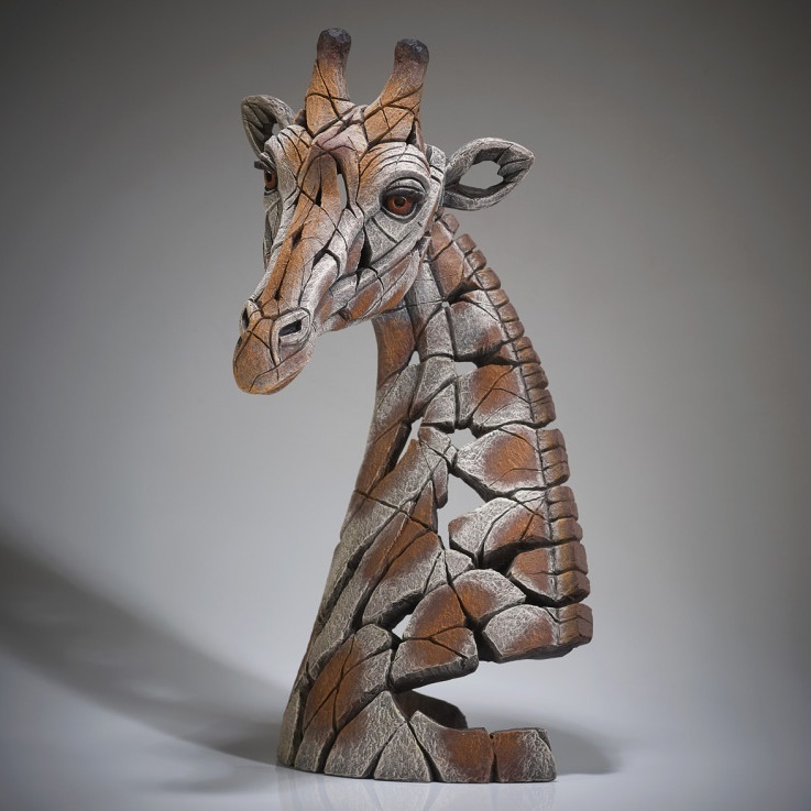 Edge Sculpture Giraffe Bust