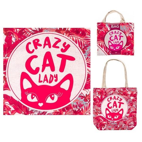 Dog Eco Shopper - Cat Lady