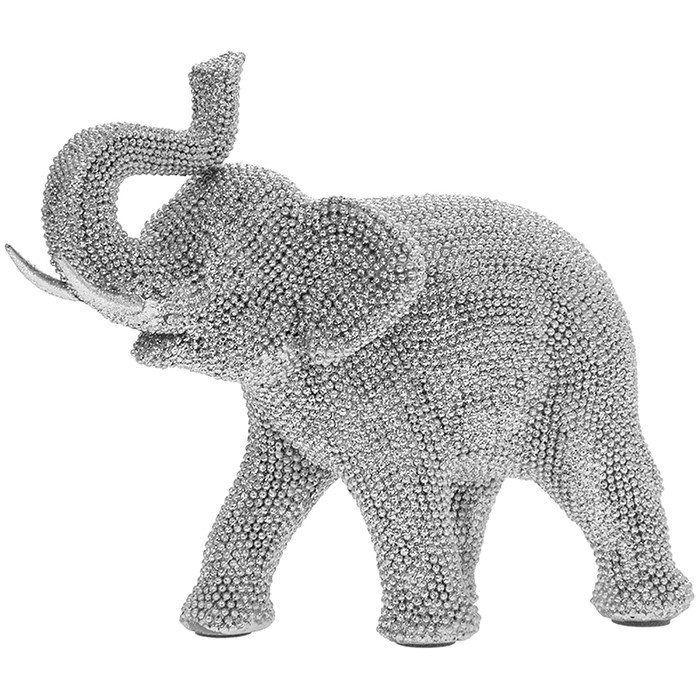 Silver Art Small Elephant