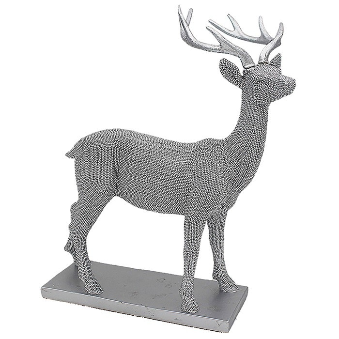 Silver Art Medium Stag