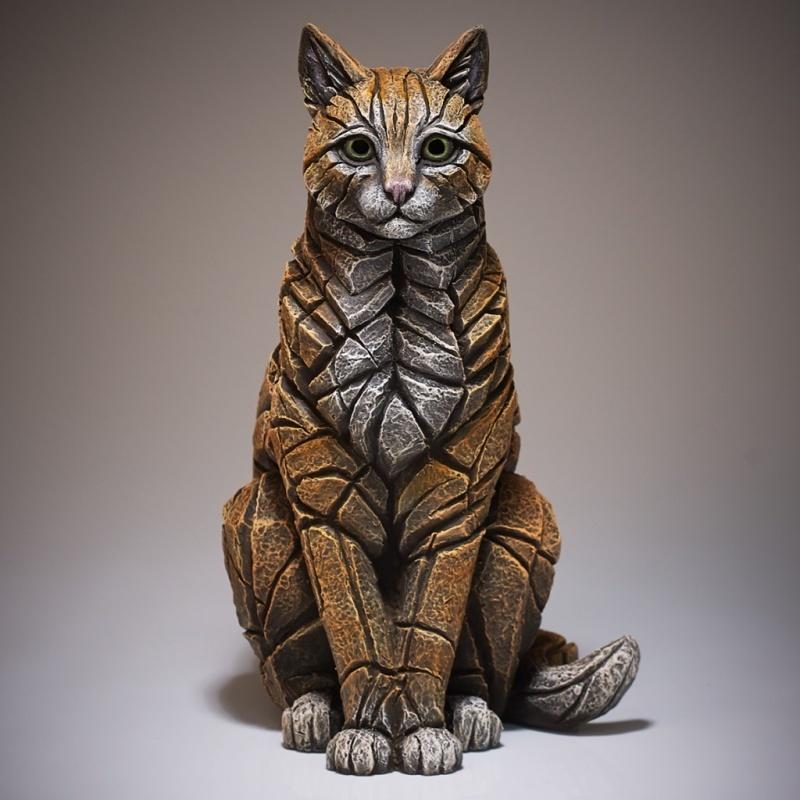 Cat Sitting Ginger Thumb