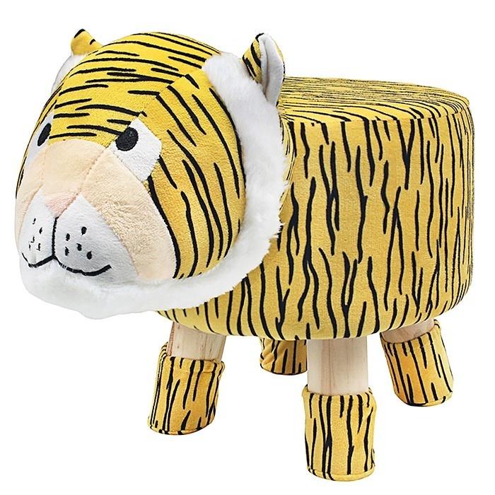 Cute Animal Footstool - Tiger