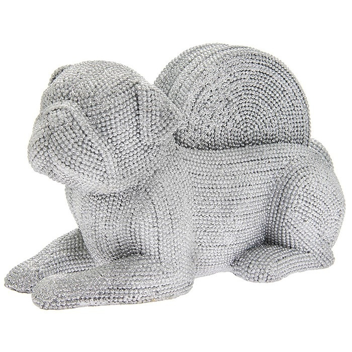 Silver Art - Pug Coaster Set
