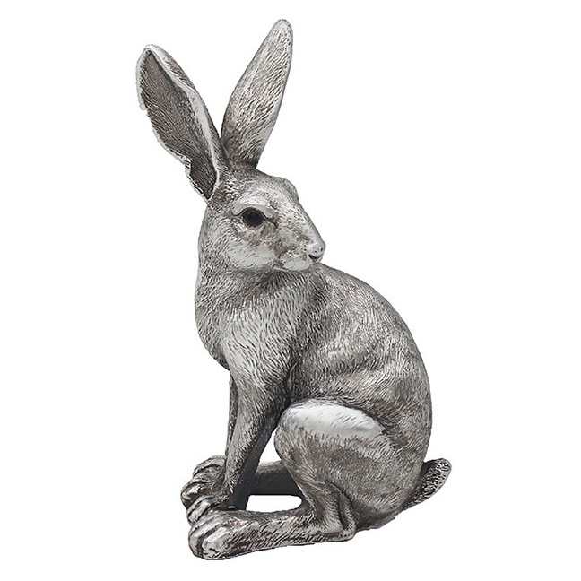 Reflections - Silver Hare Sitting