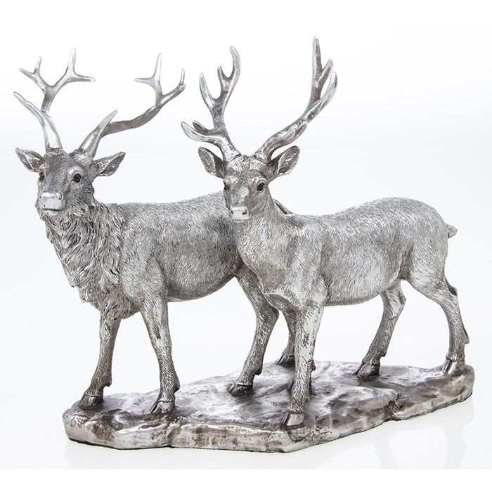 Reflections - Silver Stags
