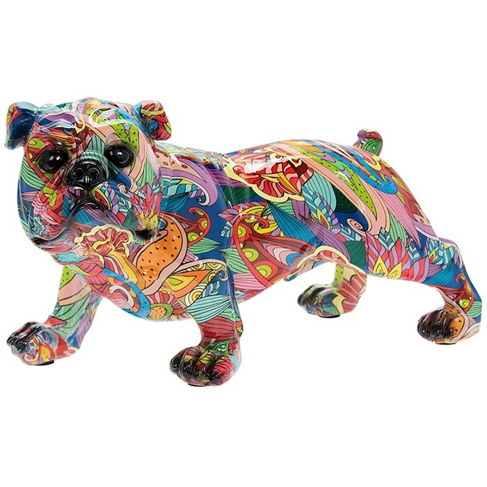 Groovy Art - Small Bulldog