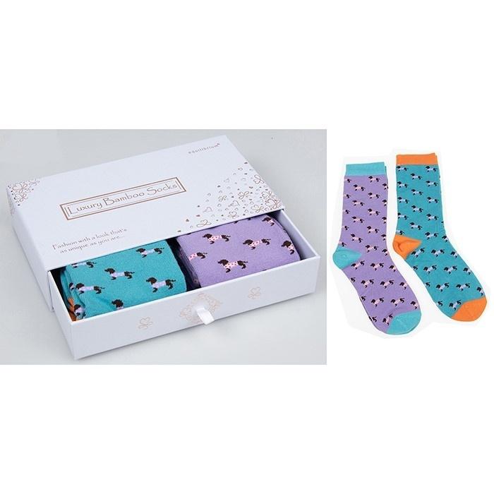 Bamboo Socks Gift Box Cute Pooch