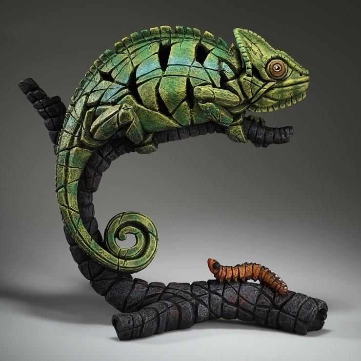 Edge Sculpture Chameleon
