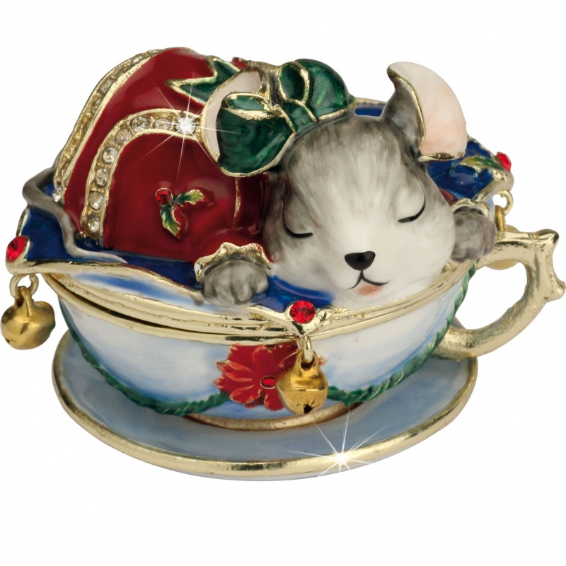 Craycombe Trinkets - Mouse in a Teacup