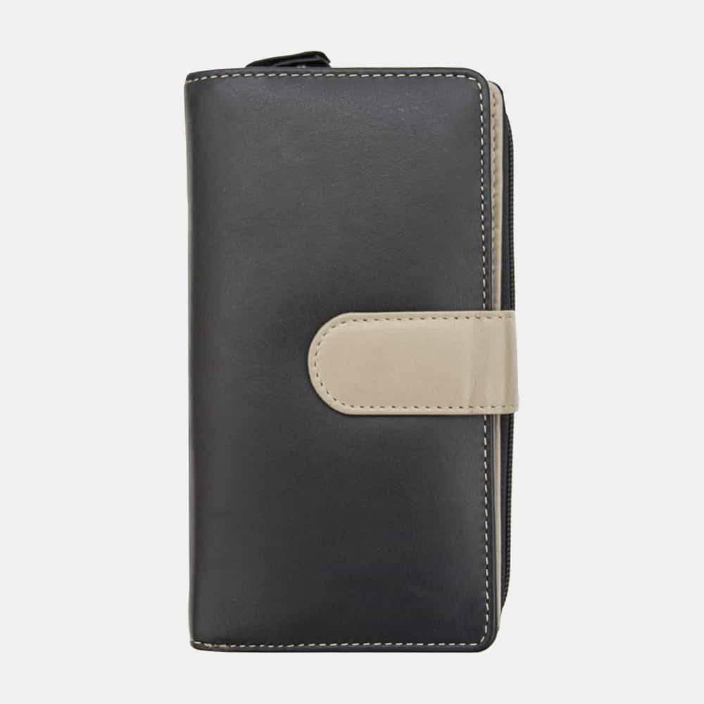 Celino RFID Safe Large Wallet Purse :: purdieoak.